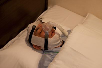 CPAP圧設定検査